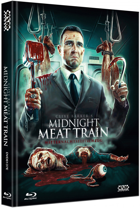 Midnight Meat Train - Limited Collector's Edition - Cover E [Blu-ray+DVD]