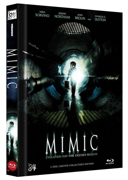 Mimic - Director's Cut - Limited Collector's Edition - Cover B [Blu-ray+DVD]