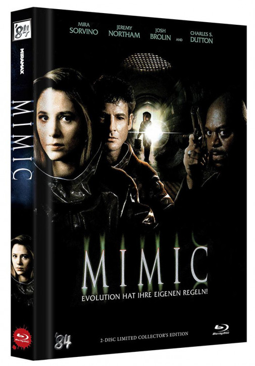 Mimic - Director's Cut - Limited Collector's Edition - Cover C [Blu-ray+DVD]