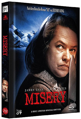 Misery - Limited Collector's Edition - Cover C [Blu-ray+DVD]