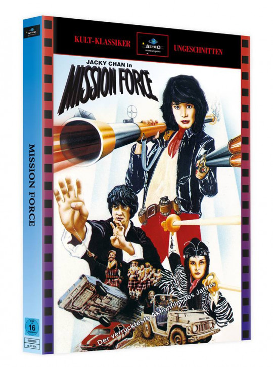 Mission Force - Mediabook - Cover A [Blu-ray]