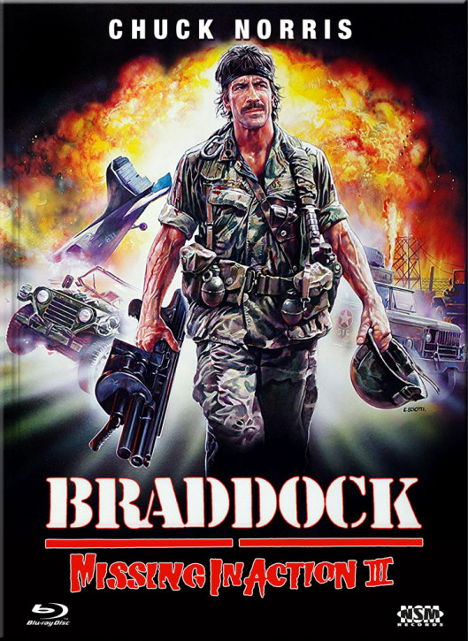 Missing in Action III - Braddock - Limited Collector's Edition - Cover A [Blu-ray+DVD]