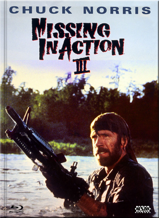Missing in Action III - Braddock - Limited Collector's Edition - Cover B [Blu-ray+DVD]