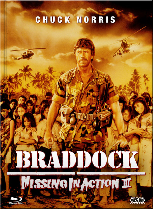 Missing in Action III - Braddock - Limited Collector's Edition - Cover C [Blu-ray+DVD]