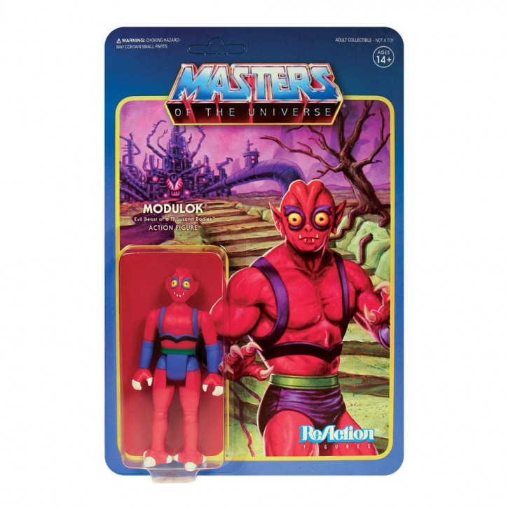Masters of the Universe: ReAction Actionfigur - Modulok Nr.2