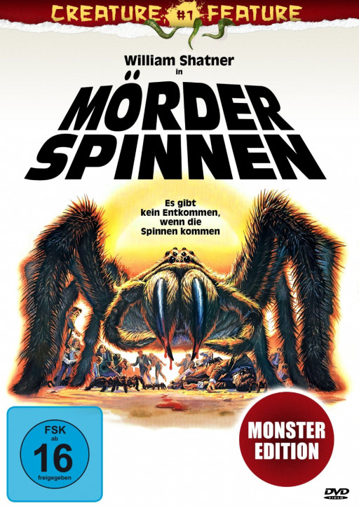 Mörderspinnen - Creature Feature Nr. 1 [DVD]