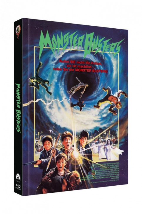 Monster Busters - Limited Collectors Edition Mediabook - Cover A [Blu-ray+DVD]