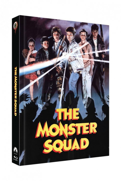 Monster Busters - Limited Collectors Edition Mediabook - Cover B [Blu-ray+DVD]