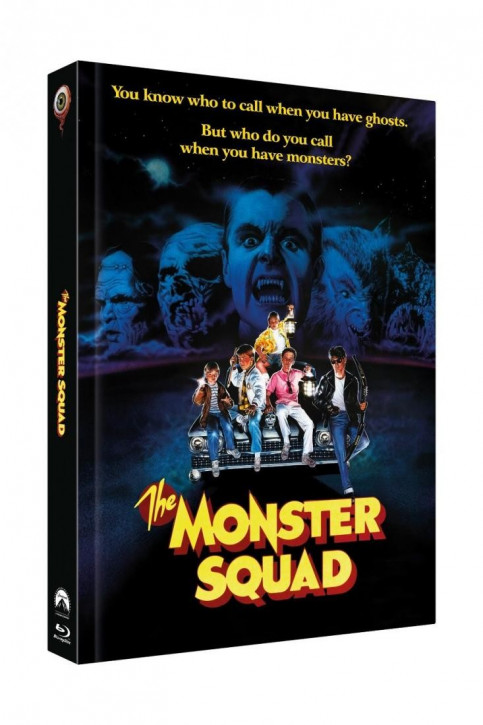 Monster Busters - Limited Collectors Edition Mediabook - Cover C [Blu-ray+DVD]