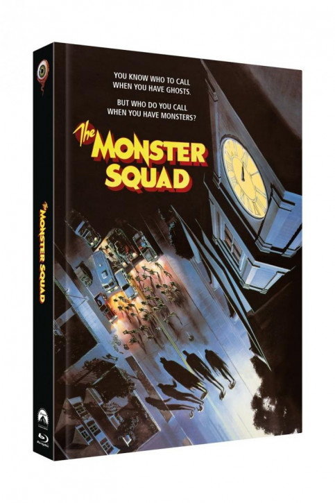 Monster Busters - Limited Collectors Edition Mediabook - Cover D [Blu-ray+DVD]