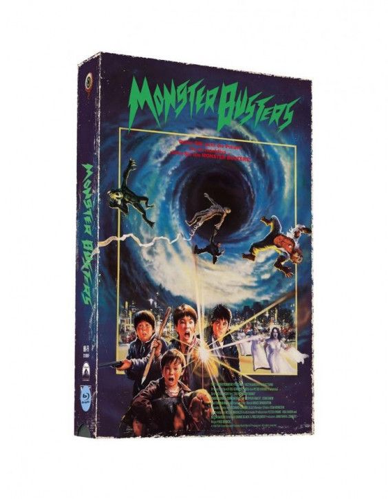 Monster Busters - Retro VHS-Edition - Cover A [Blu-ray+DVD]