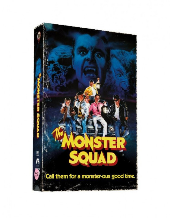 Monster Busters - Retro VHS-Edition - Cover B [Blu-ray+DVD]