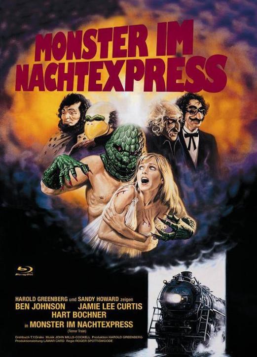 Monster im Nachtexpress - kleine Hartbox [Blu-ray]
