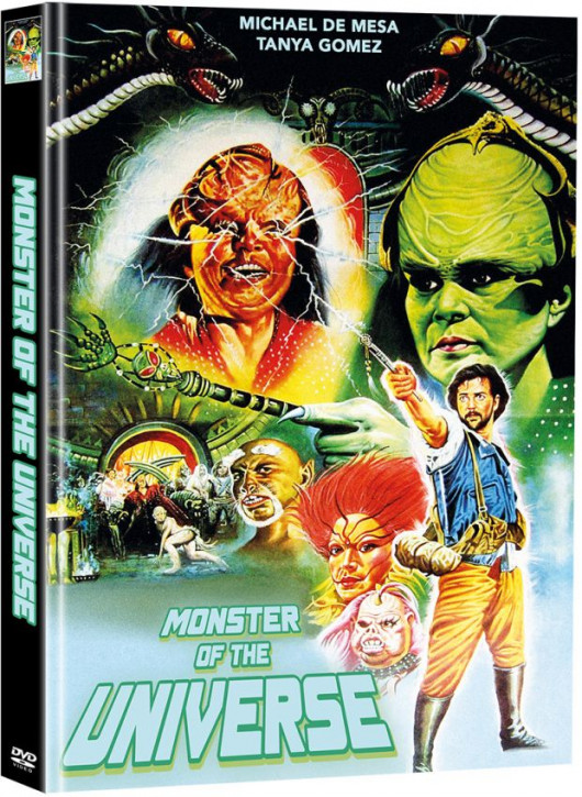 Monster of the Universe - Limited Mediabook Edition (Super Spooky Stories #55) - Cover B [DVD]