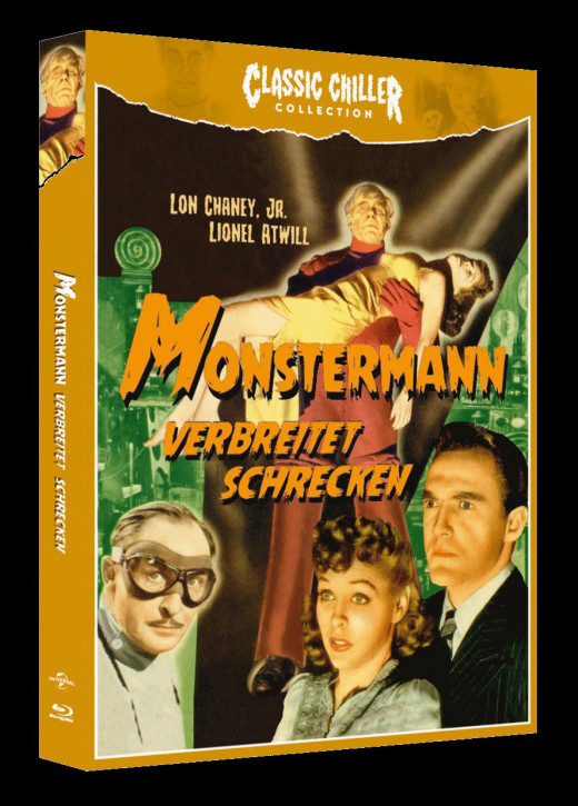 Monstermann verbreitet Schrecken - Classic Chiller Collection [Blu-ray]
