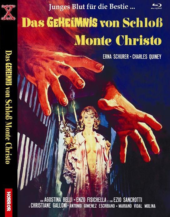 Das Geheimnis von Schloß Monte Christo - kleine Hartbox [Blu-ray]