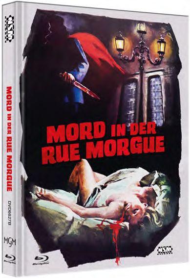 Mord in der Rue Morgue - Mediabook - Cover B [Blu-ray]