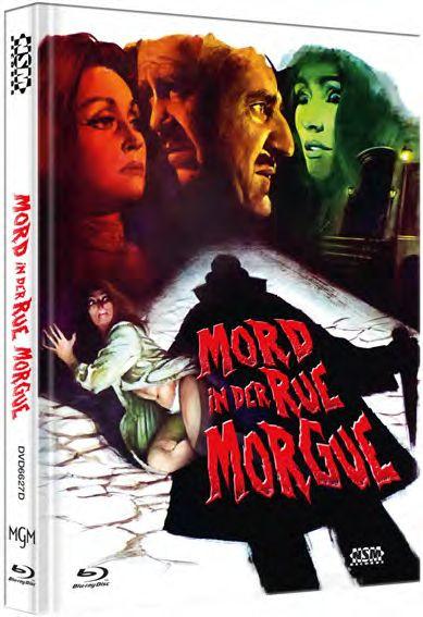 Mord in der Rue Morgue - Mediabook - Cover D [Blu-ray]