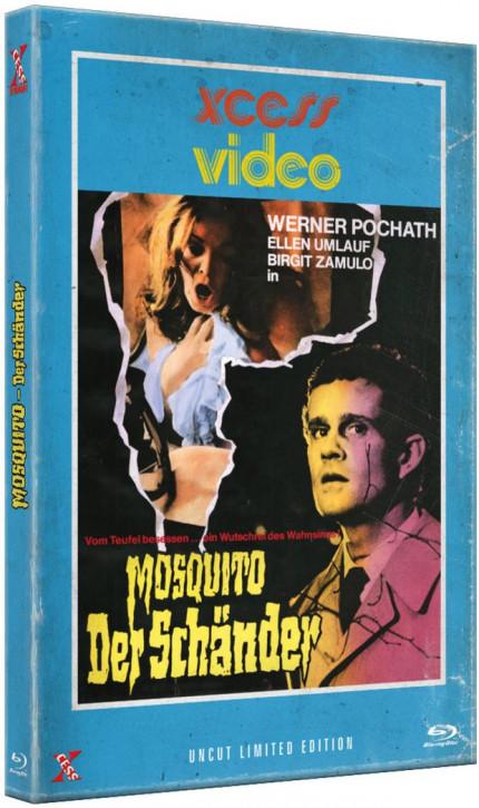 Mosquito - Der Schänder - Große Hartbox [Blu-ray]