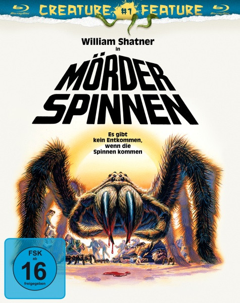 Mörderspinnen - Creature Feature Nr. 1 [Blu-ray]