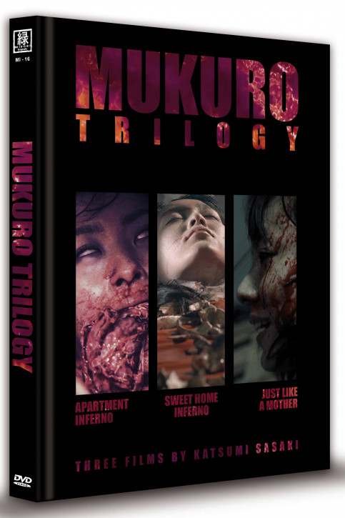 Mukuro Trilogy - Limited Mediabook Edition - Cover C (OmU) [DVD]