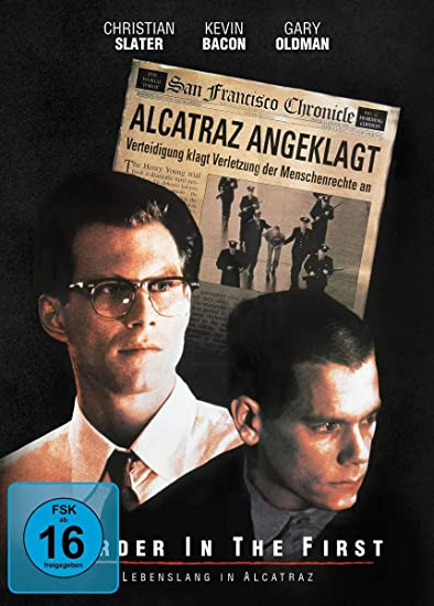 Murder in the First - Lebenslang in Alcatraz - Special Edition Mediabook [Blu-ray+DVD]