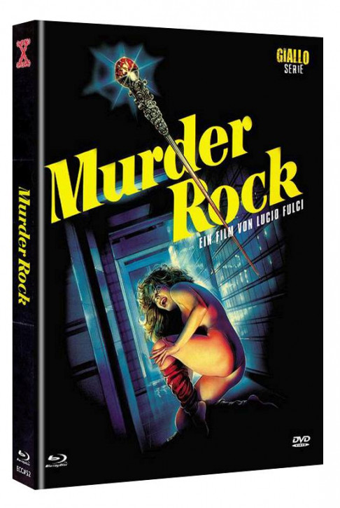 Murder Rock - Eurocult Collection #052 - Mediabook - Cover A [Blu-ray+DVD]