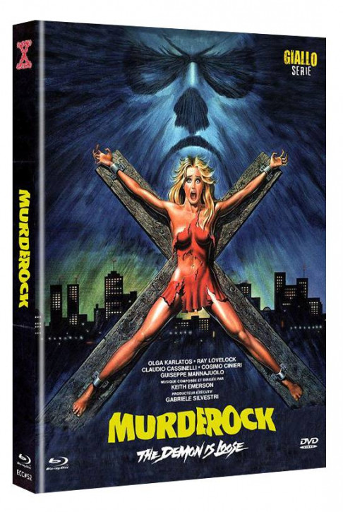 Murder Rock - Eurocult Collection #052 - Mediabook - Cover B [Blu-ray+DVD]