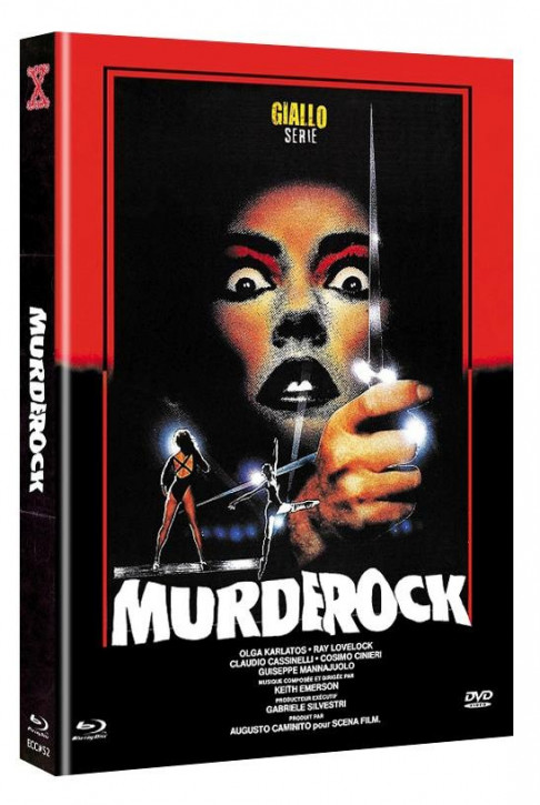Murder Rock - Eurocult Collection #052 - Mediabook - Cover C [Blu-ray+DVD]