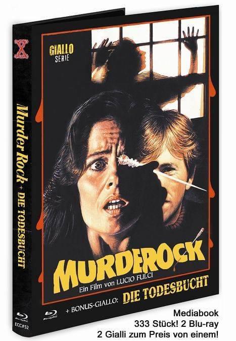 Murder Rock + Die Todesbucht  - Eurocult Collection #052 - Mediabook - Cover E [Blu-ray+DVD]
