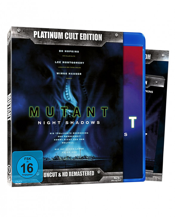 Mutant - Night Shadows (Platinum-Cult-Edition) [Blu-ray+DVD]
