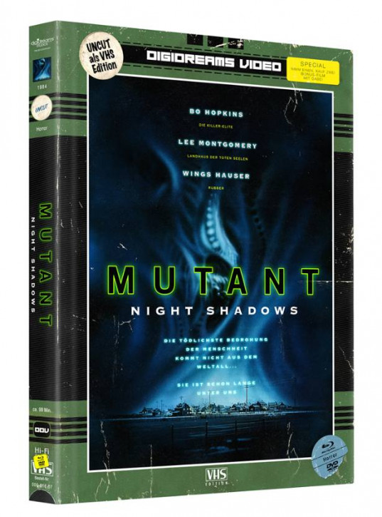 Mutant - Limited Mediabook VHS Edition [Blu-ray+DVD]