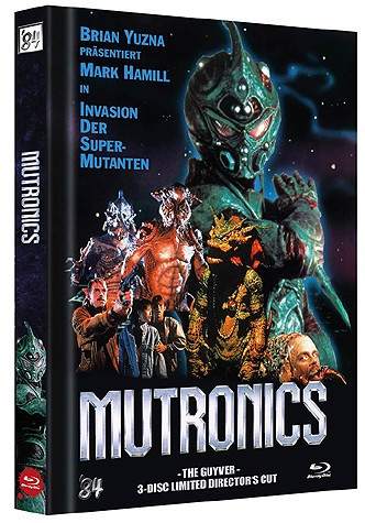 Mutronics - The Guyver - Limited Director's Cut - Cover A [Blu-ray+DVD]