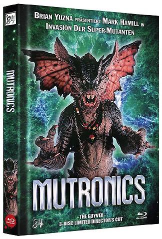 Mutronics - The Guyver - Limited Director's Cut - Cover B [Blu-ray+DVD]