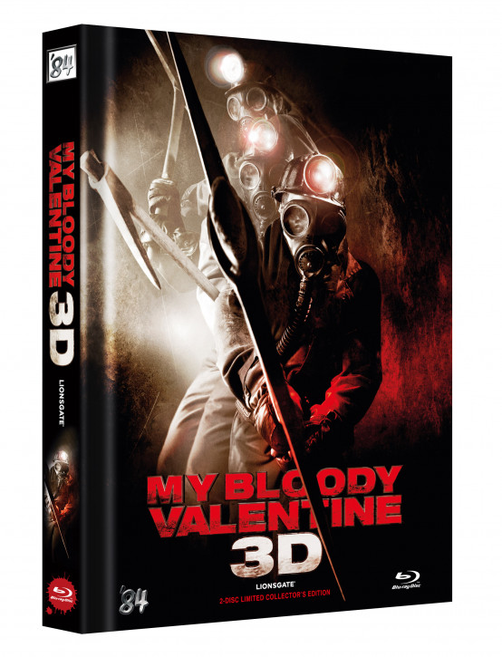 My bloody Valentine 3D - Limited Collectors Edition - Cover B [Blu-ray+DVD]