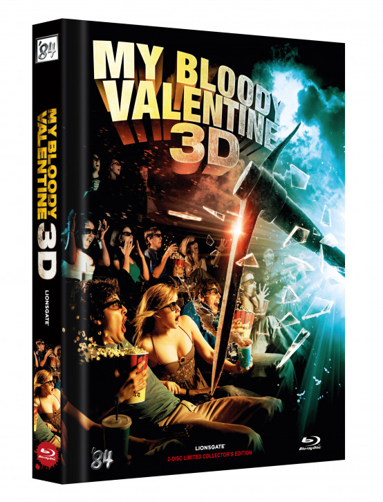 My bloody Valentine 3D - Limited Collectors Edition - Cover C [Blu-ray+DVD]