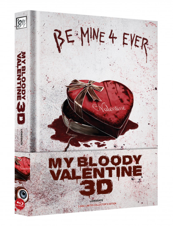 My bloody Valentine 3D - Limited Collectors Edition - Cover A [Blu-ray+DVD]