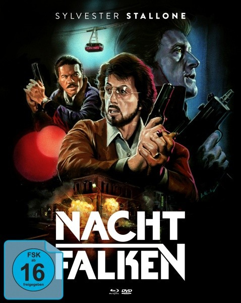 Nachtfalken - Limited Mediabook Edition [Blu-ray+DVD]