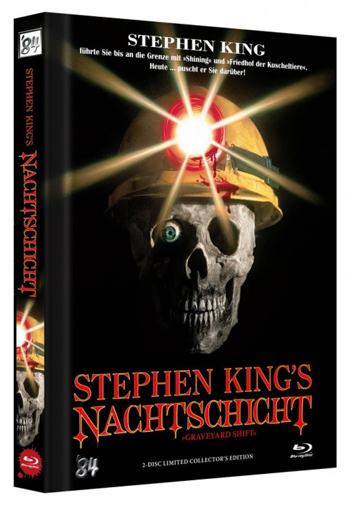 Stephen Kings Nachtschicht - Limited Collector's Edition - Cover A [Blu-ray+DVD]