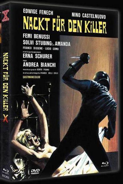 Nackt für den Killer - Mediabook - Cover C [Blu-ray+DVD]