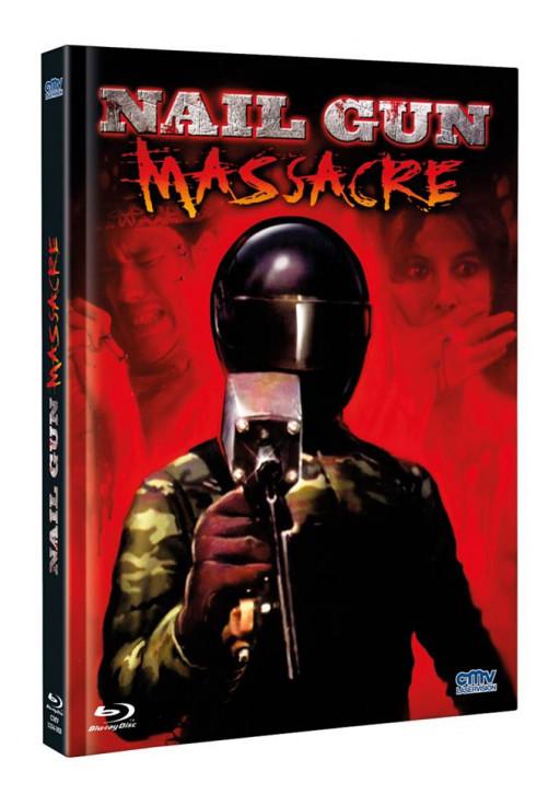 Nail Gun Massacre - Limited Mediabook - Cover A [Blu-ray+DVD]