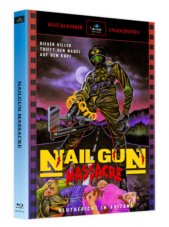 The Nailgun Massacre - Mediabook - Cover A [Blu-ray]