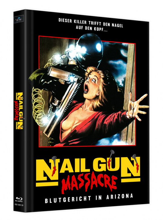 The Nailgun Massacre - Mediabook - Cover B [Blu-ray]