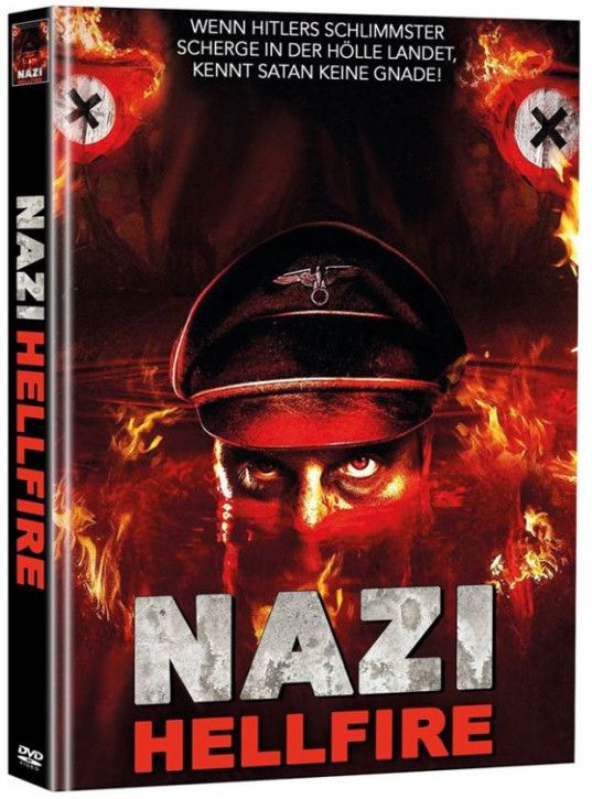 Nazi - Hellfire - Limited Mediabook Edition - Cover A - (OmU)  (Super Spooky Stories #31) [DVD]