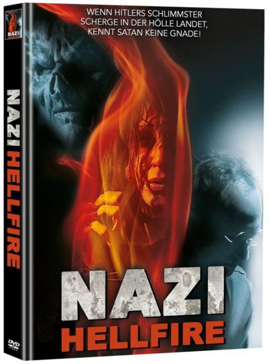 Nazi - Hellfire - Limited Mediabook Edition - Cover B (OmU)  (Super Spooky Stories #31) [DVD]