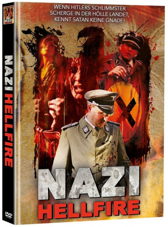 Nazi - Hellfire - Limited Mediabook Edition - Cover C (OmU) (Super Spooky Stories #31) [DVD]