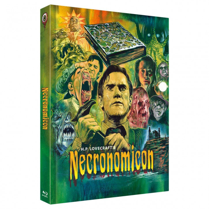 Necronomicon - Limited Collectors Edition Mediabook - Cover C [Blu-ray]