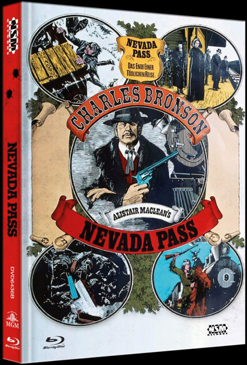 Nevada Pass - Limited Collector's Edition - Cover B [Blu-ray+DVD]