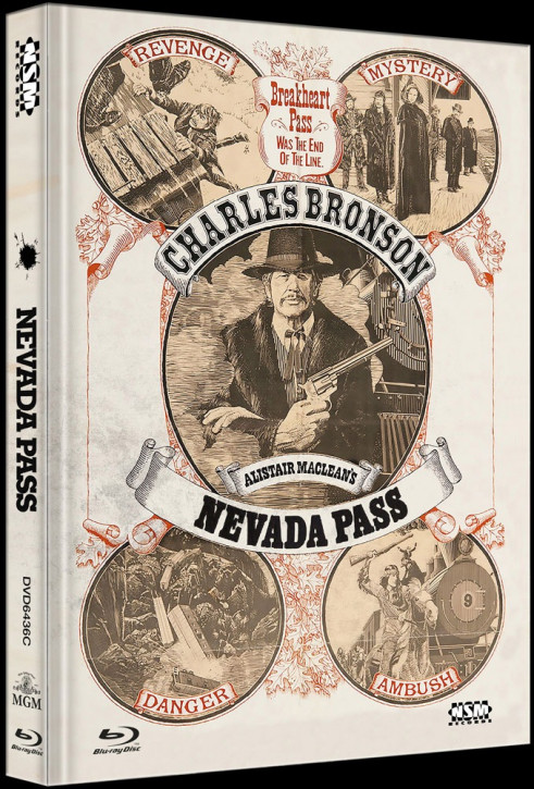 Nevada Pass - Limited Collector's Edition - Cover C [Blu-ray+DVD]