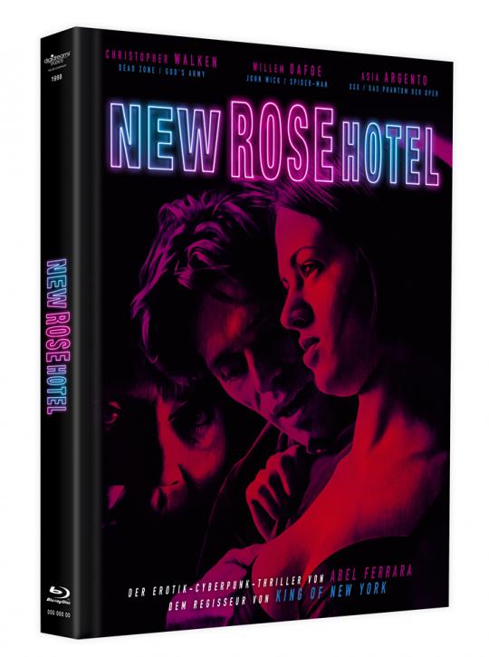 New Rose Hotel - Mediabook [Blu-ray+DVD]